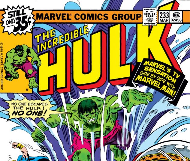 Incredible Hulk (1962) #233 Cover
