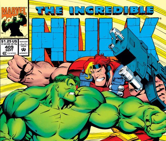 Incredible Hulk (1962) #409 Cover
