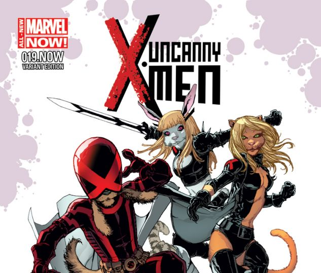 UNCANNY X-MEN 19.NOW CAMUNCOLI ANIMAL VARIANT (ANMN, WITH DIGITAL CODE)