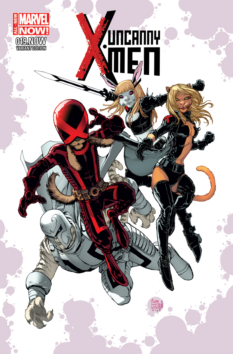 Uncanny X-Men (2013) #19 (Camuncoli Animal Variant)