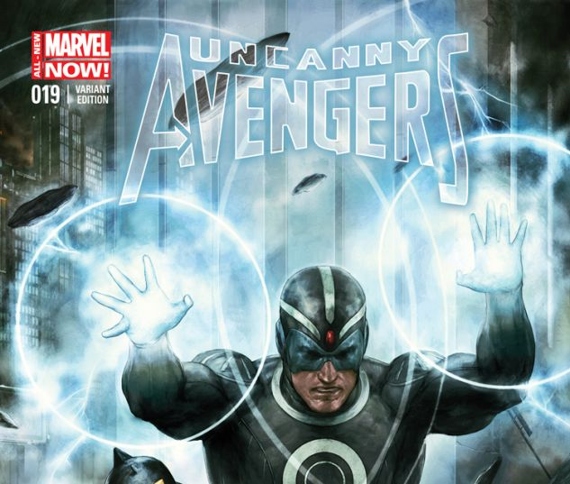 UNCANNY AVENGERS 19 ALLESIO VARIANT (ANMN, WITH DIGITAL CODE)