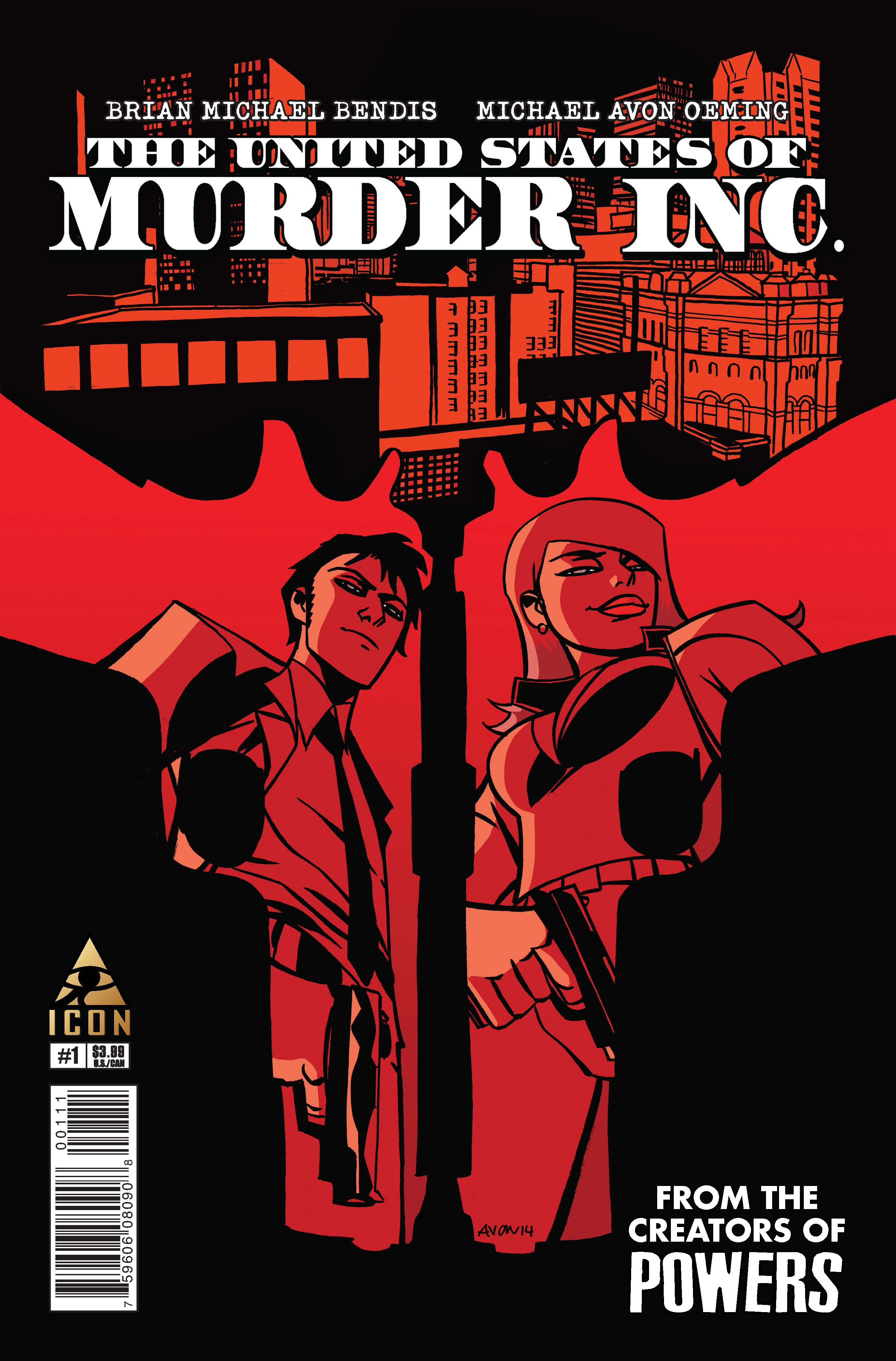 The United States of Murder Inc. (2014) #1