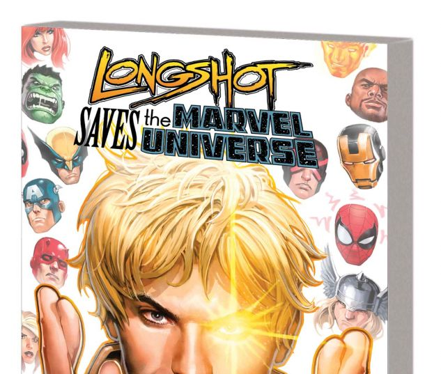 LONGSHOT SAVES THE MARVEL UNIVERSE TPB