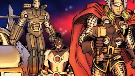 Marvel AR: Avengers VS. X-Men #3 Cover Recap