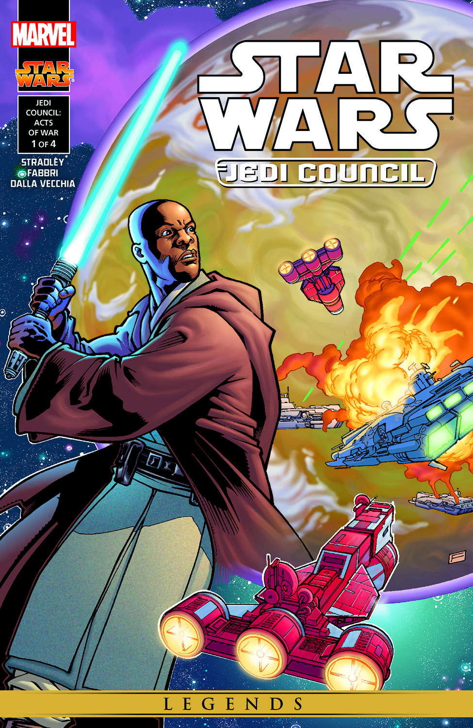 Star Wars: Jedi Council - Acts Of War (2000) #1