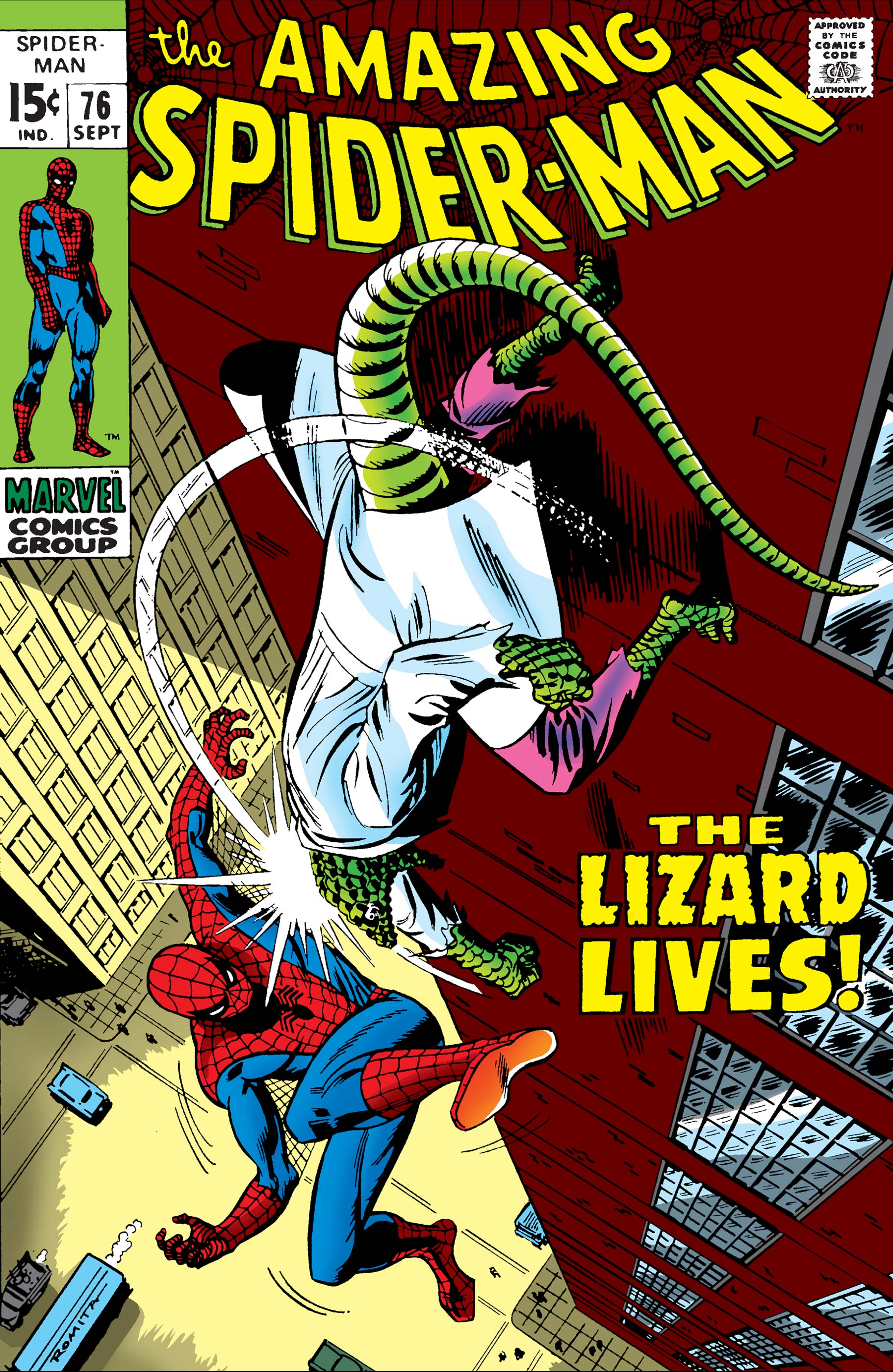 The Amazing Spider-Man (1963) #76
