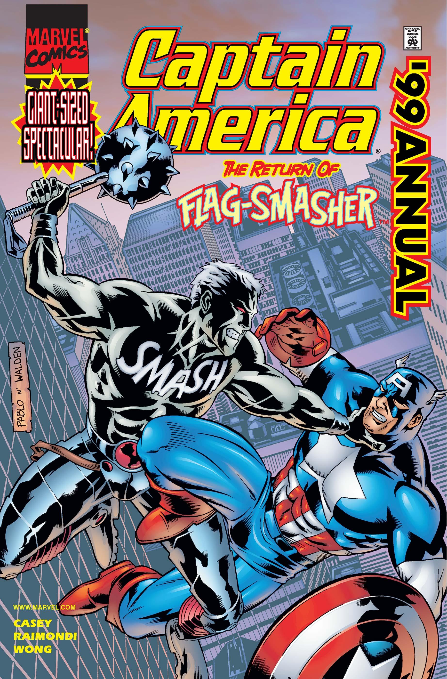 Captain America Annual (1999) #1