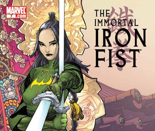THE IMMORTAL IRON FIST (2006) #7