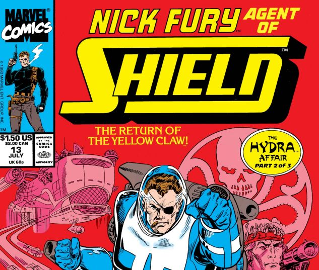 Nick Fury, Agent of Shield (1989) #13
