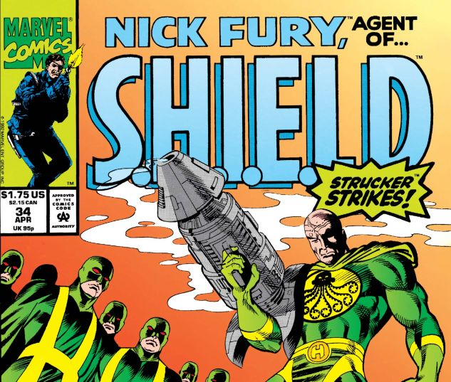 Nick Fury, Agent of Shield (1989) #34