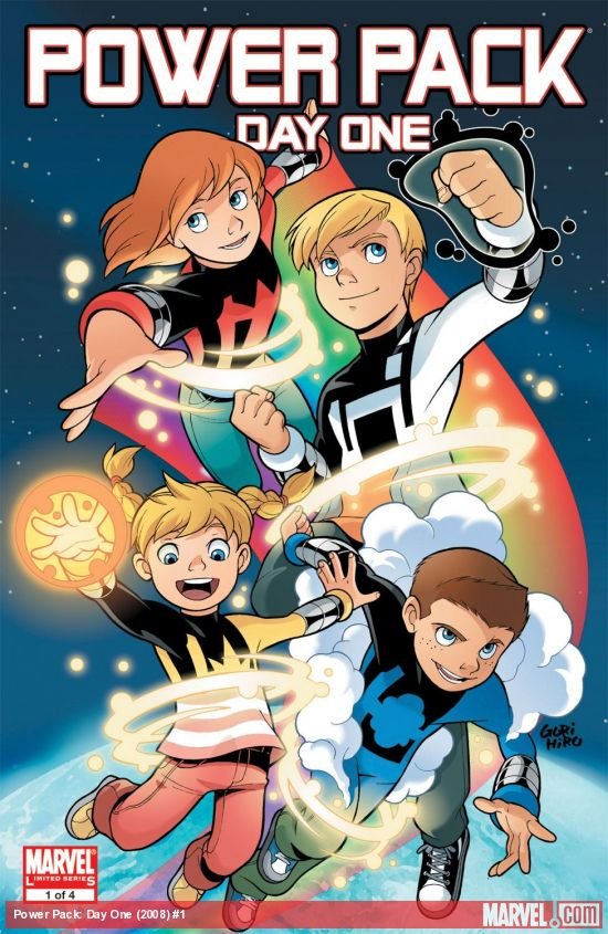 Power Pack: Day One (2008) #1