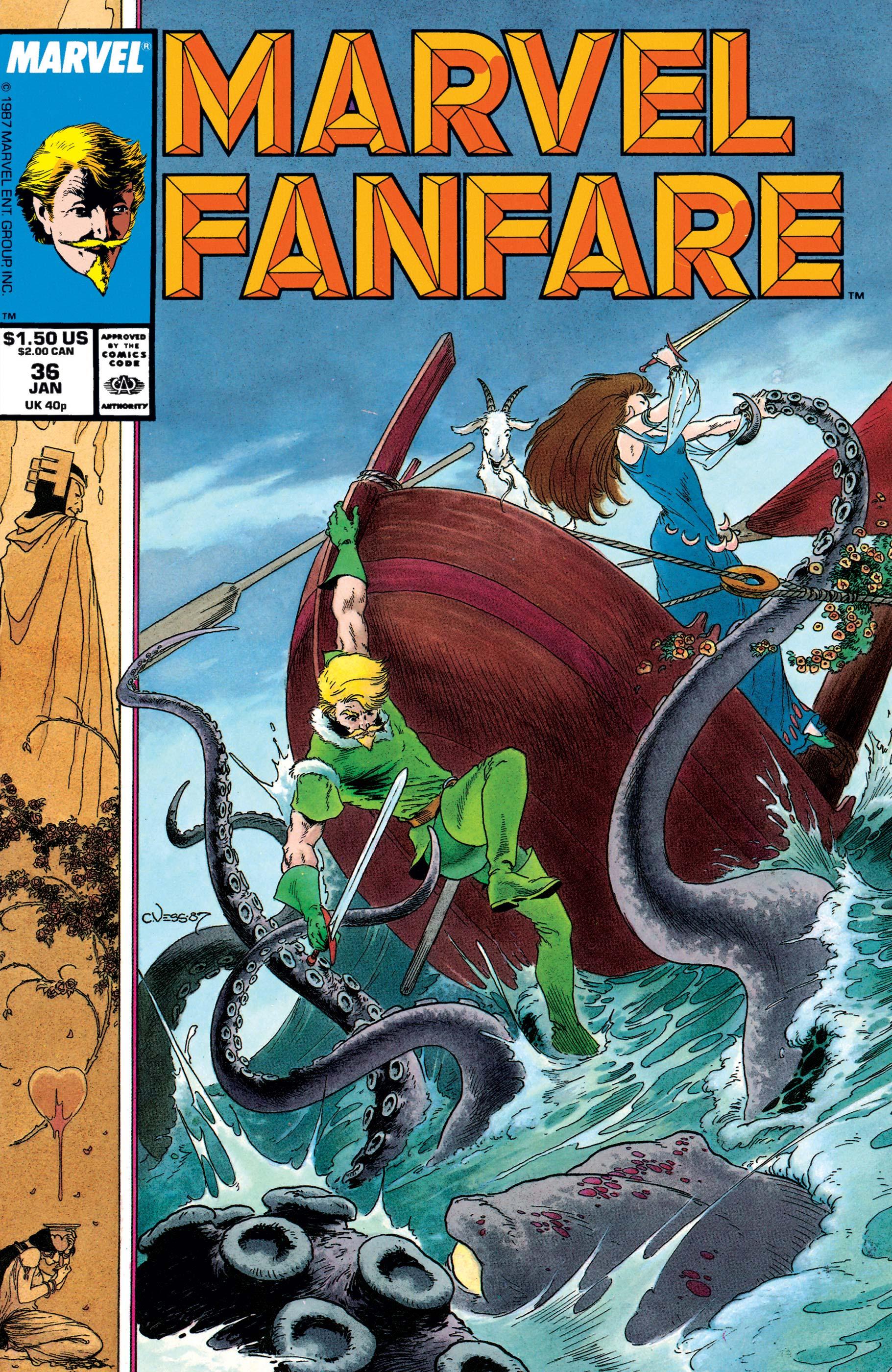 Marvel Fanfare (1982) #36