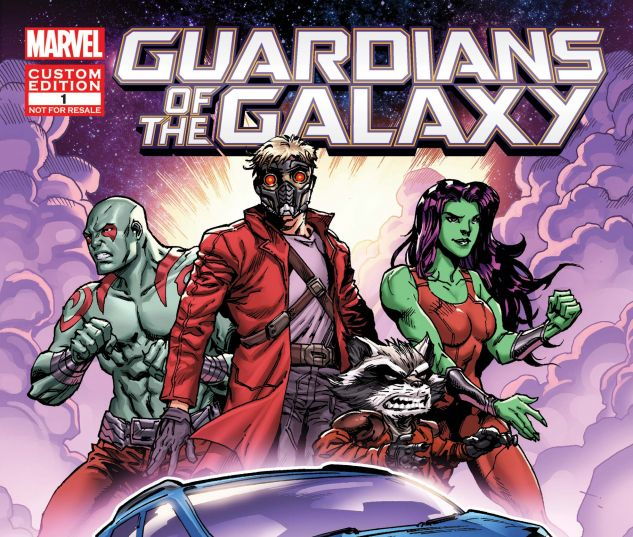 cover from Custom Ford Comic Gotg 2017 (2017) #1