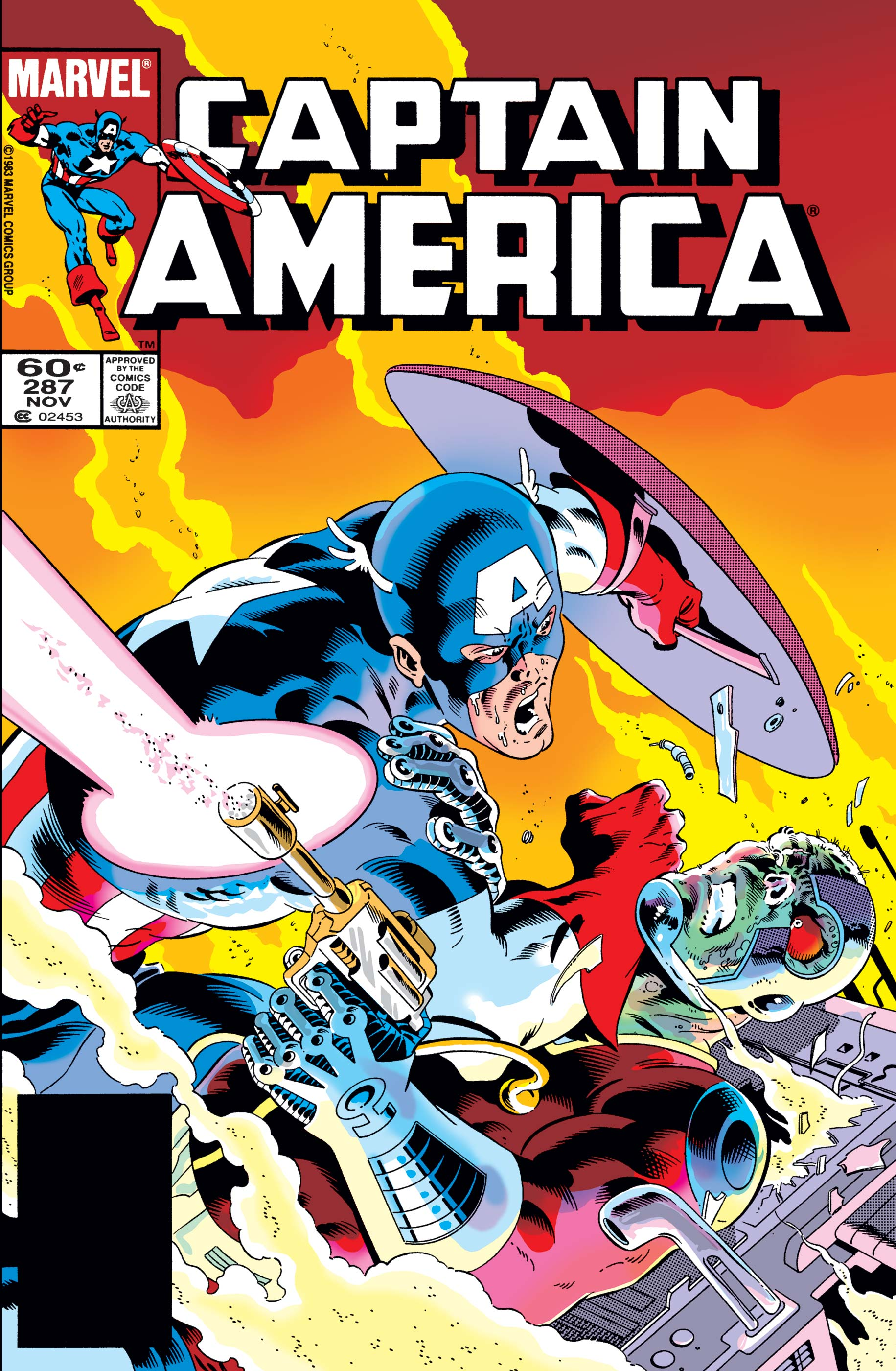 Captain America (1968) #287