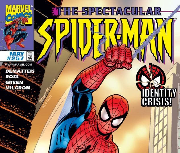 Cover for PETER PARKER, THE SPECTACULAR SPIDER-MAN 257