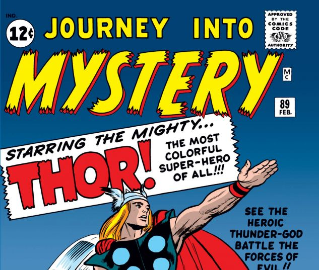 JOURNEY INTO MYSTERY (1952) #89