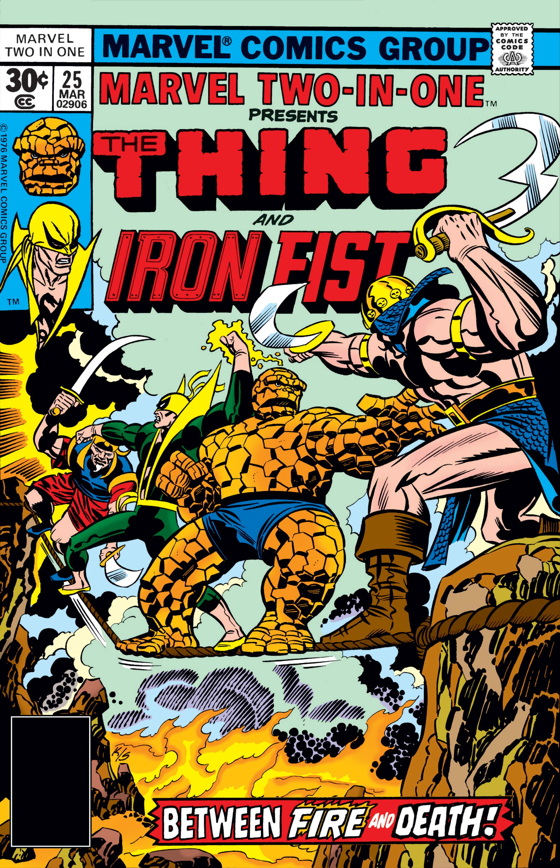 Marvel Two-in-One (1974) #25