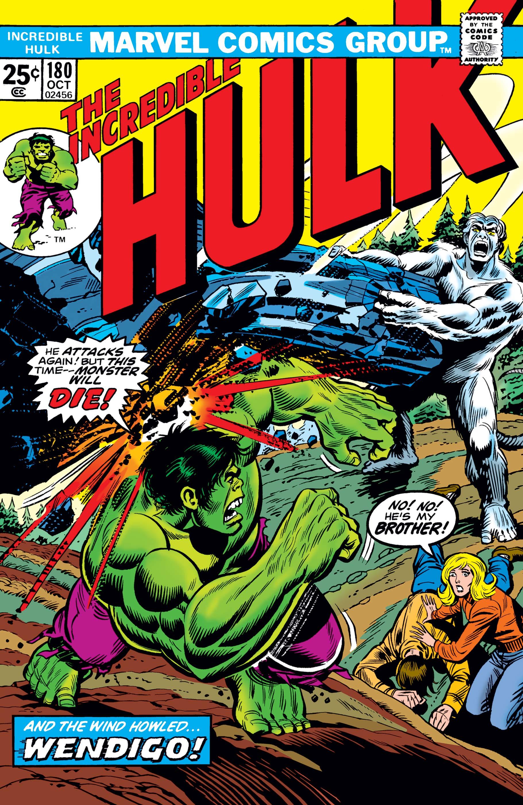 Incredible Hulk (1962) #180