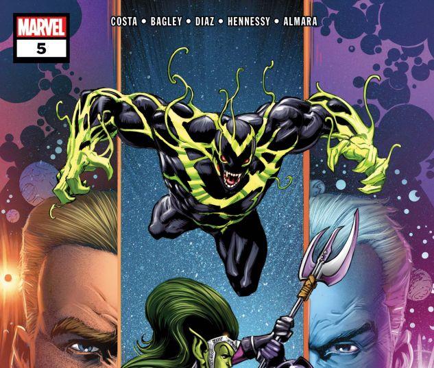 Venom: First Host (2018) #5