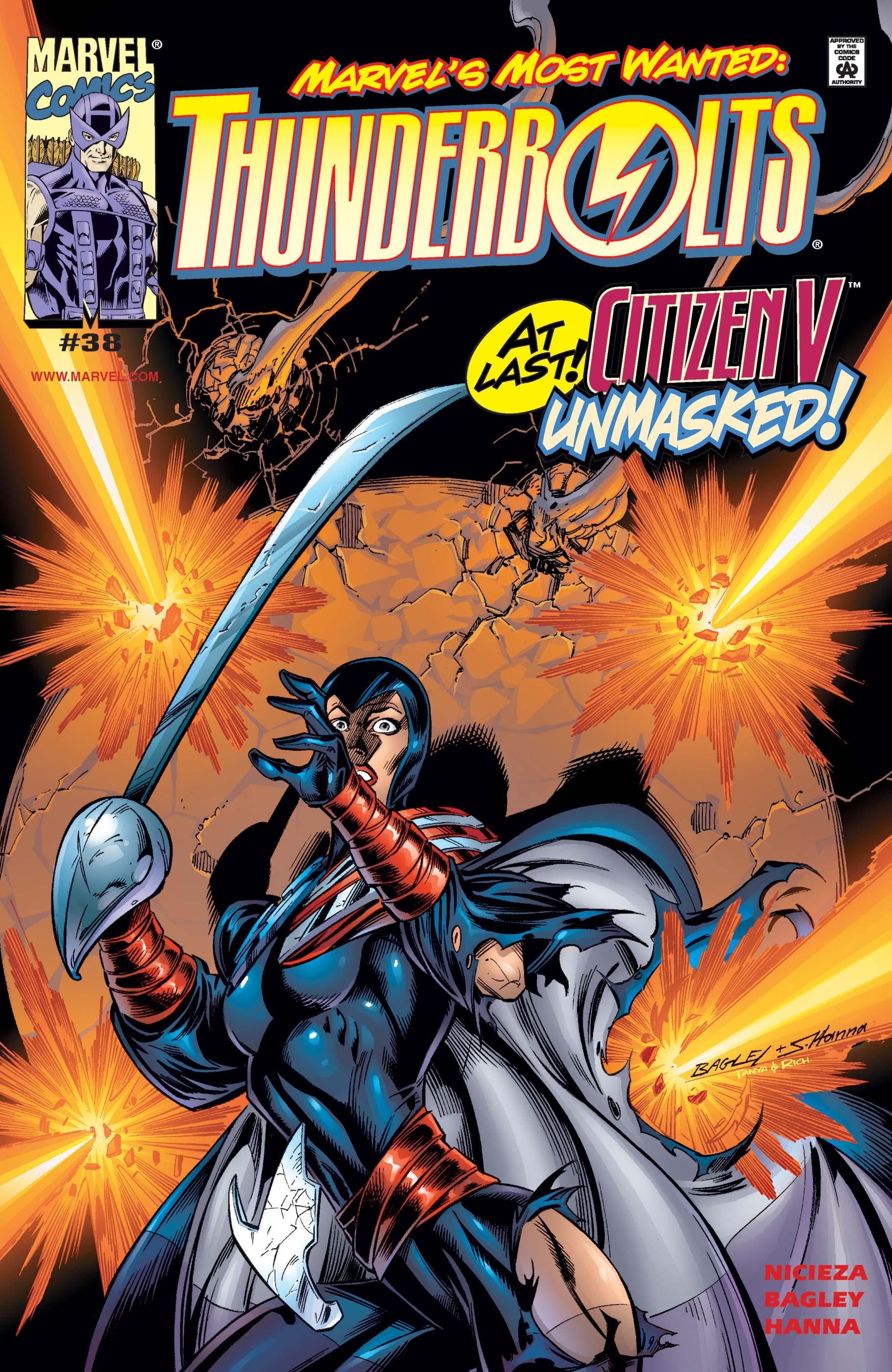 Thunderbolts (1997) #38