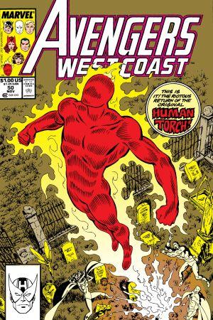 West Coast Avengers #50