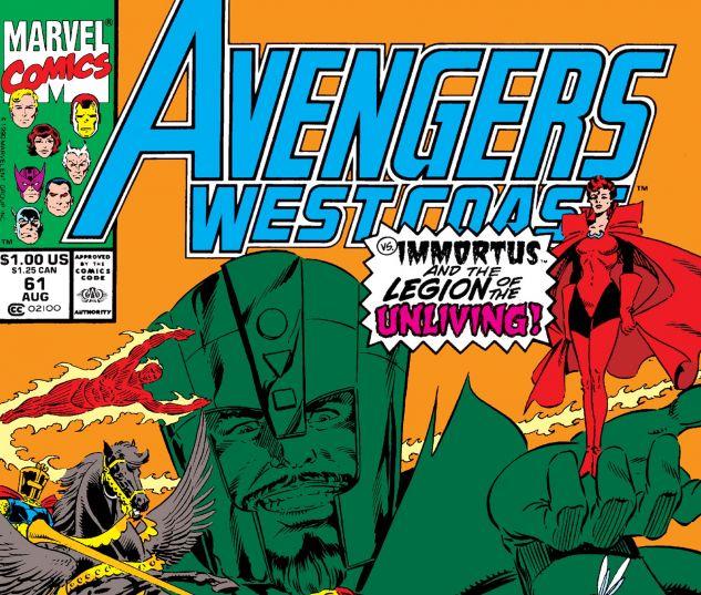 WEST COAST AVENGERS (1985) #61