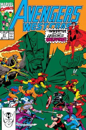 West Coast Avengers #61
