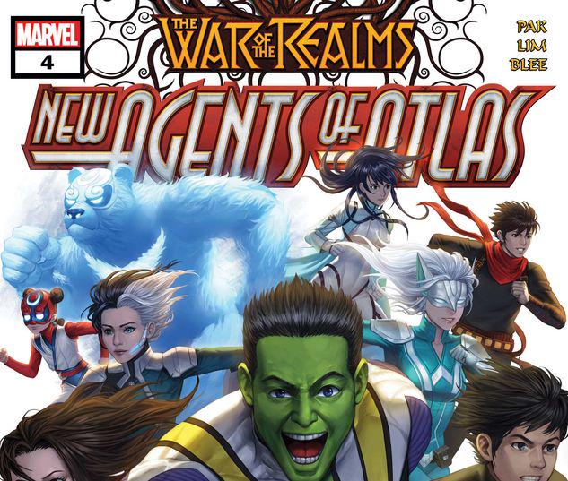 War of the Realms: New Agents of Atlas #4