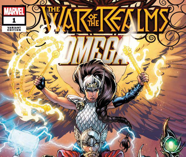WAR OF THE REALMS OMEGA 1 YARDIN VARIANT #1