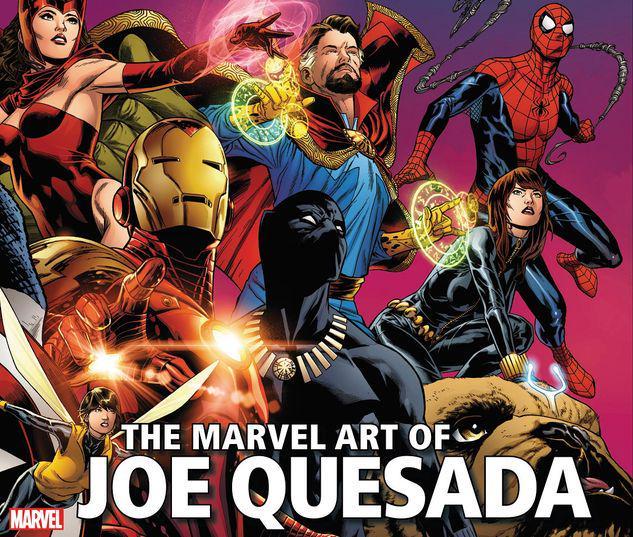 THE MARVEL ART OF JOE QUESADA - EXPANDED EDITION HC #1