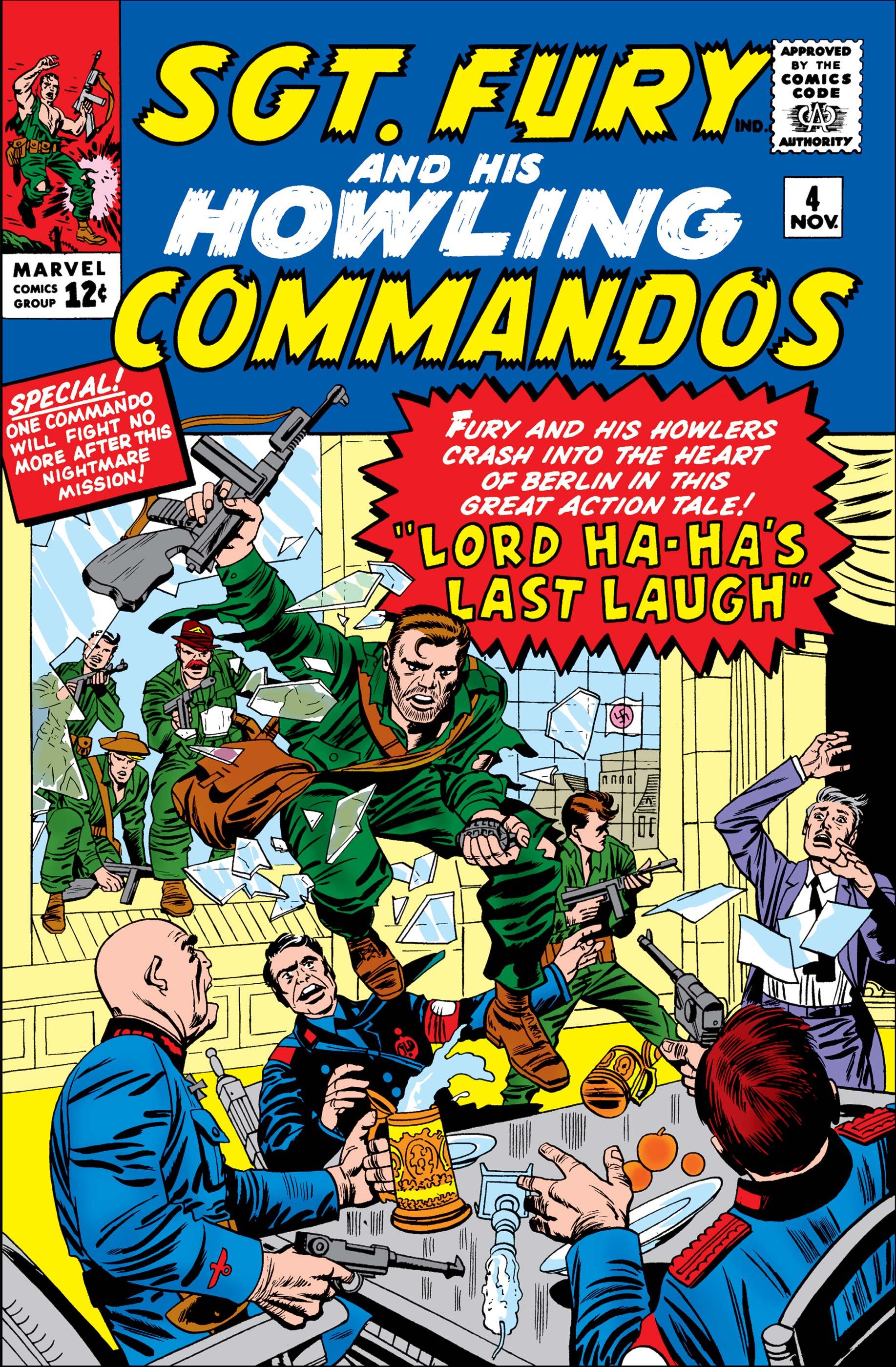 Sgt. Fury (1963) #4