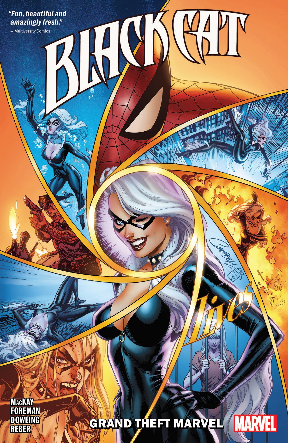 Black Cat Vol. 1: Grand Theft Marvel (Trade Paperback)