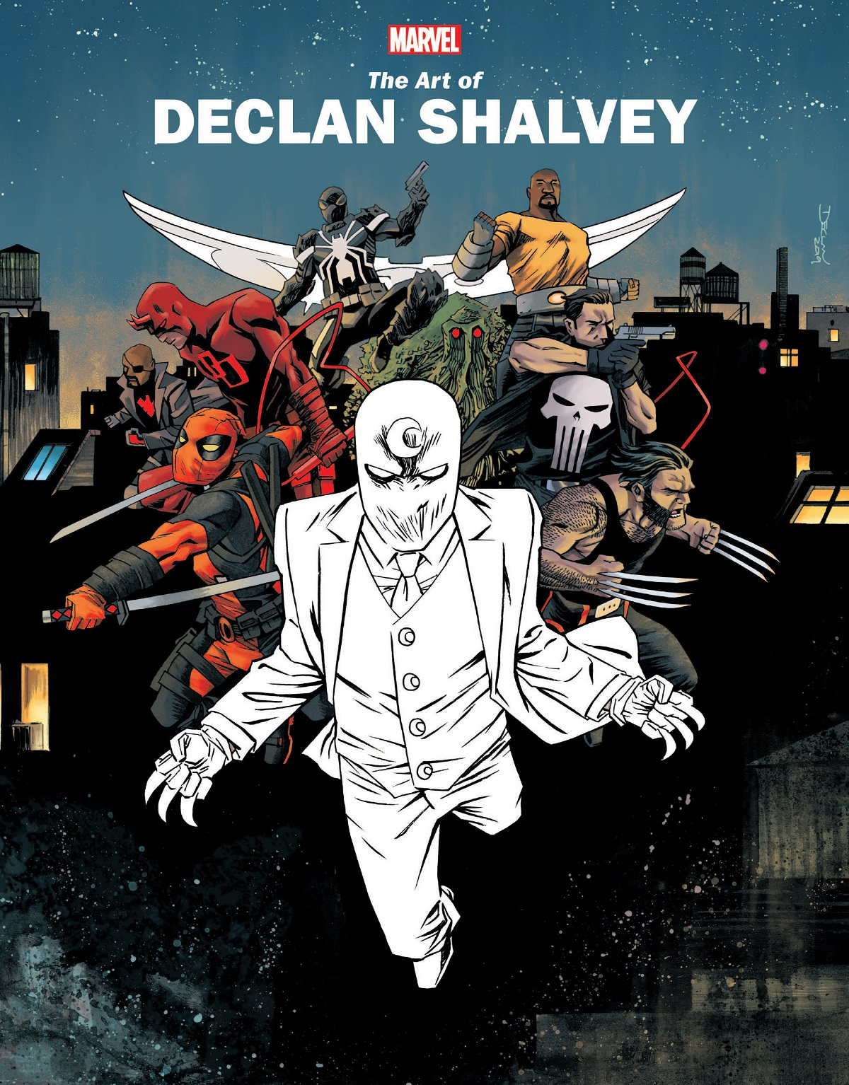 Marvel Monograph: The Art Of Declan Shalvey (Trade Paperback)