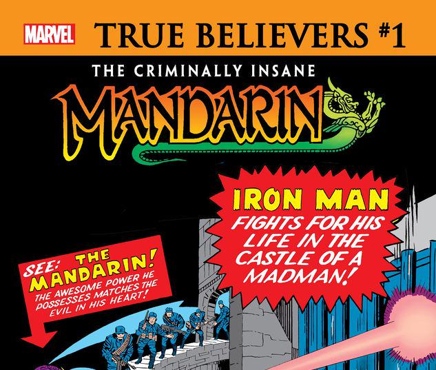 TRUE BELIEVERS: THE CRIMINALLY INSANE - MANDARIN 1 #1