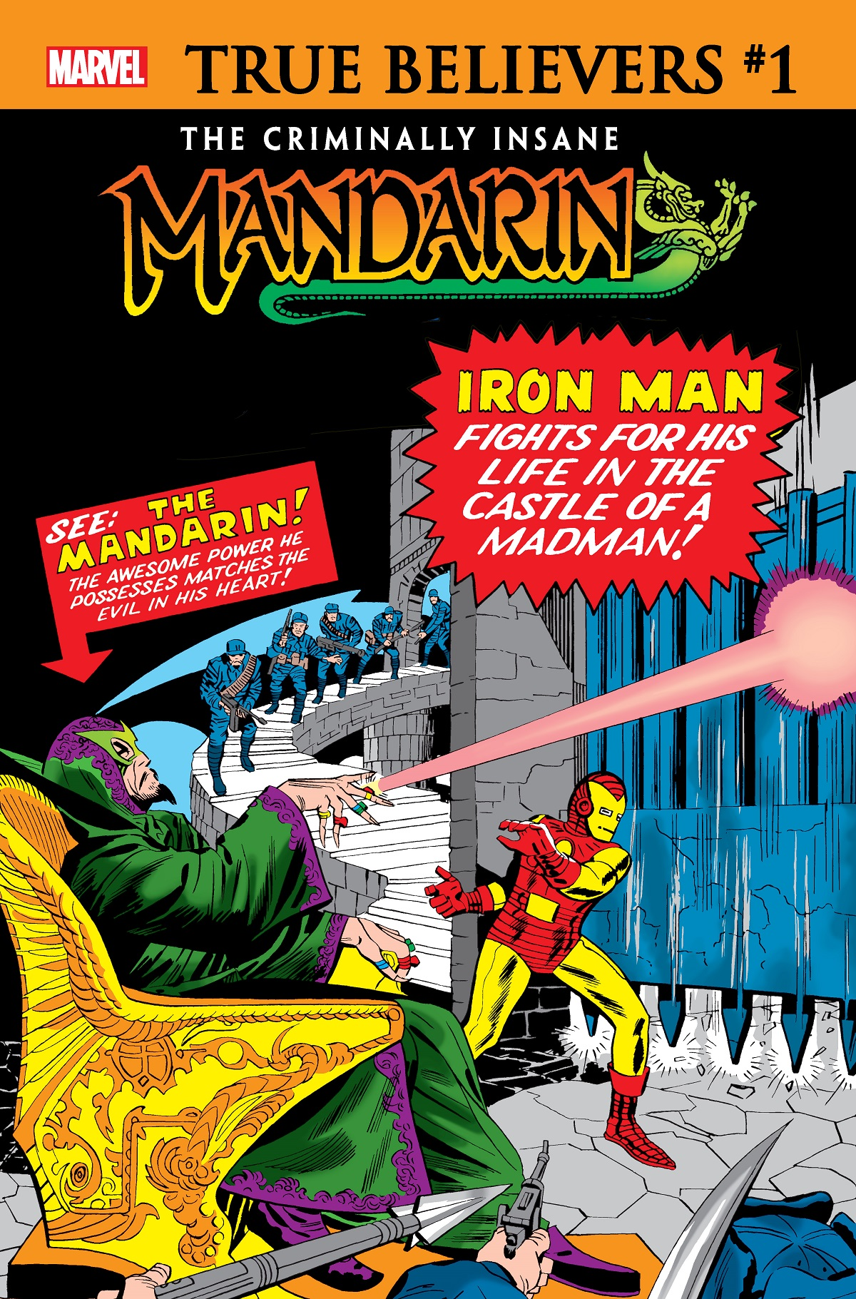 True Believers: The Criminally Insane - Mandarin  (2020) #1