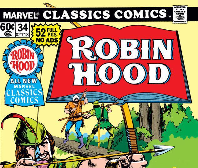 Marvel Classics Comics Series Featuring #34