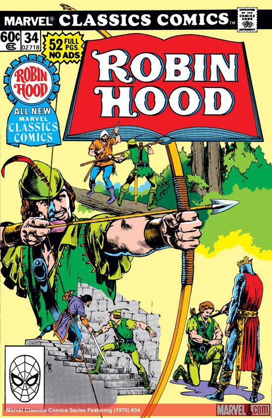 Marvel Classics Comics Series Featuring (1976) #34
