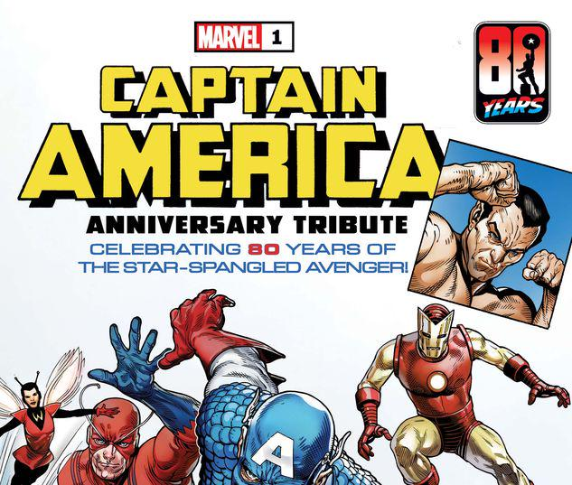 CAPTAIN AMERICA ANNIVERSARY TRIBUTE 1 #1