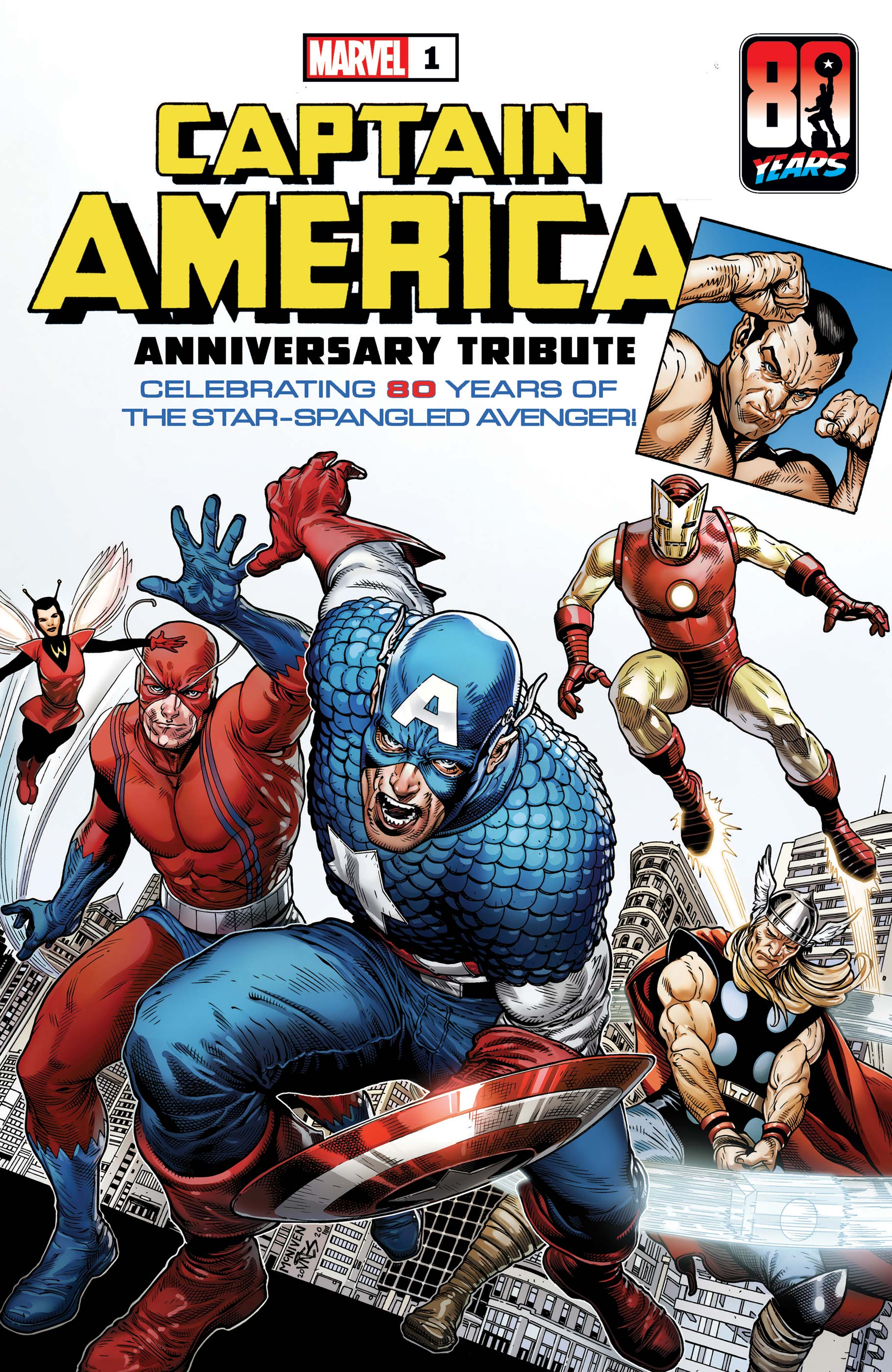 CAPTAIN AMERICA ANNIVERSARY TRIBUTE 1 (2021) #1