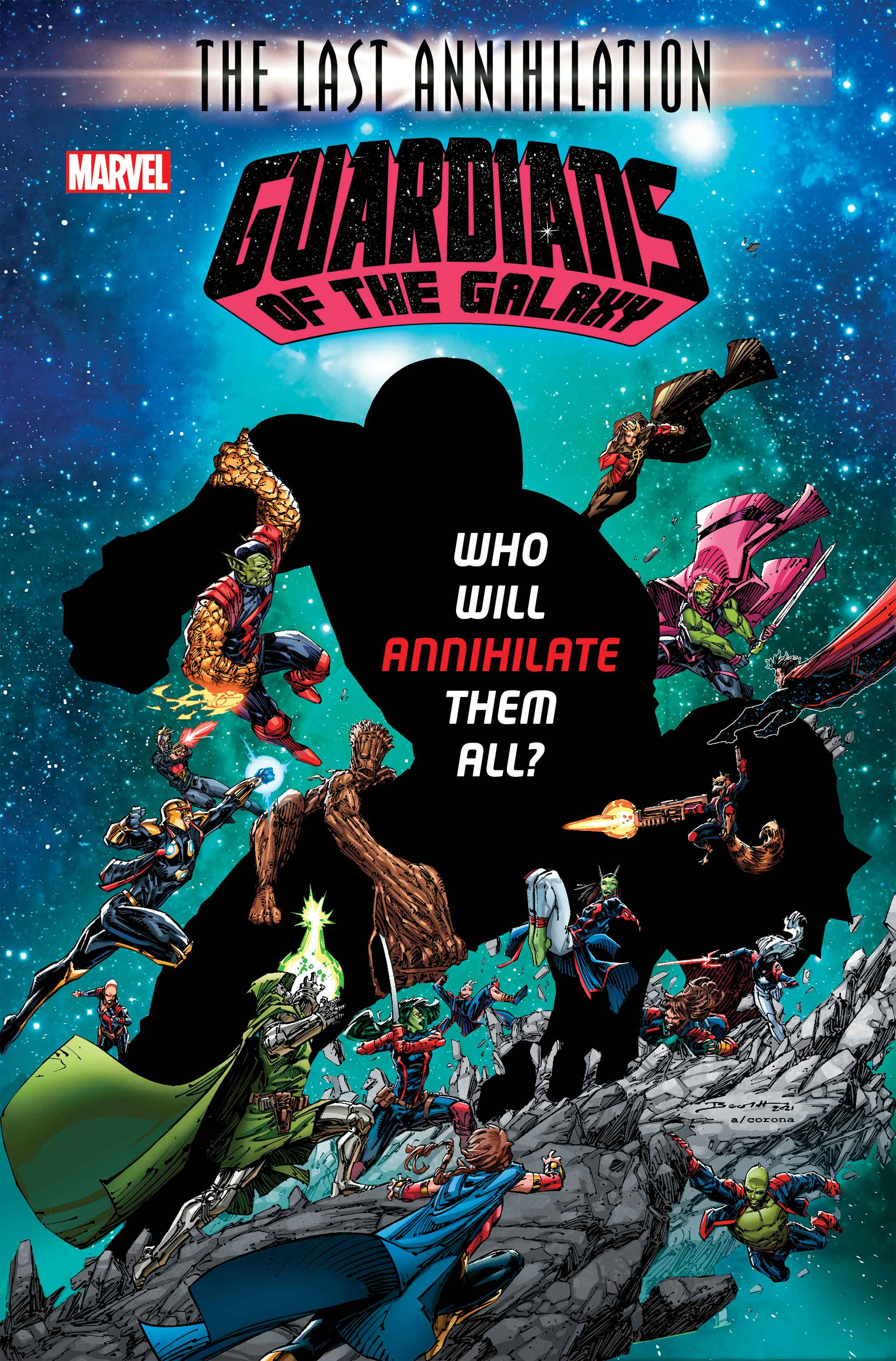 Guardians of the Galaxy (2020) #16