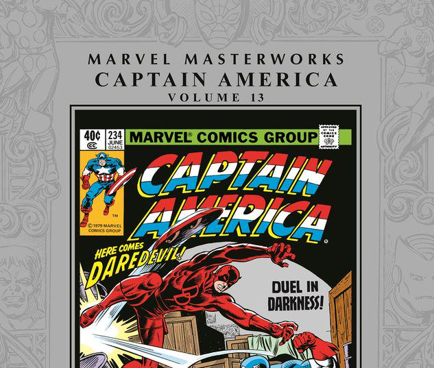 MARVEL MASTERWORKS: CAPTAIN AMERICA VOL. 13 HC #13