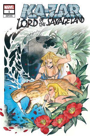 Ka-Zar Lord of the Savage Land #1 Variant