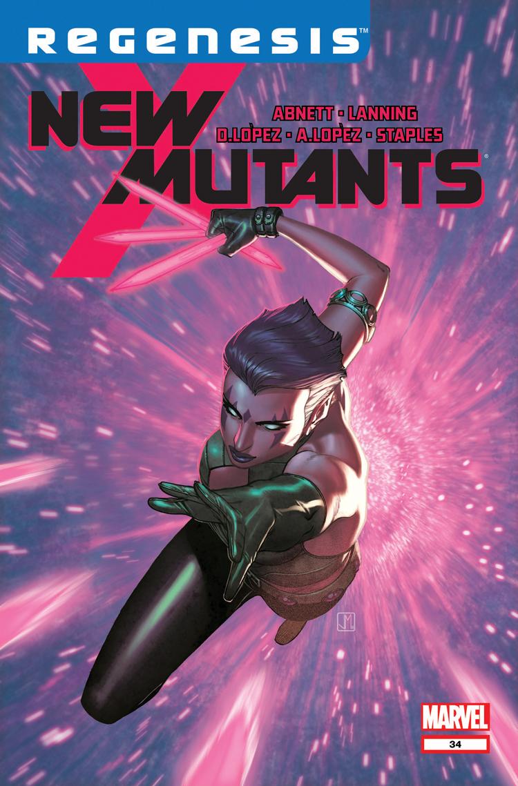 New Mutants (2009) #34