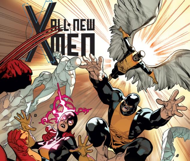 ALL-NEW X-MEN 10 2ND PRINTING VARIANT (NOW, WITH DIGITAL CODE)
