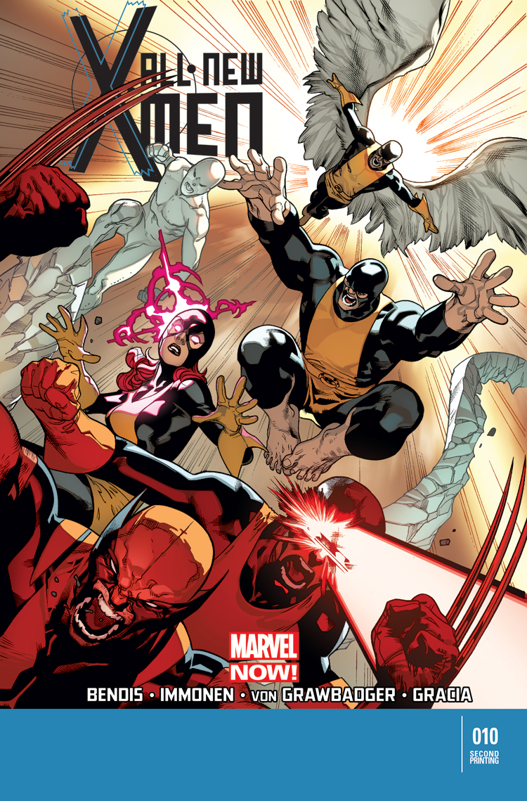 All-New X-Men (2012) #10 (2nd Printing Variant)