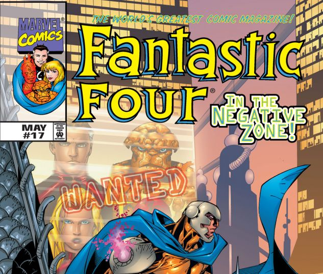 Fantastic Four (1998) #17 Cover