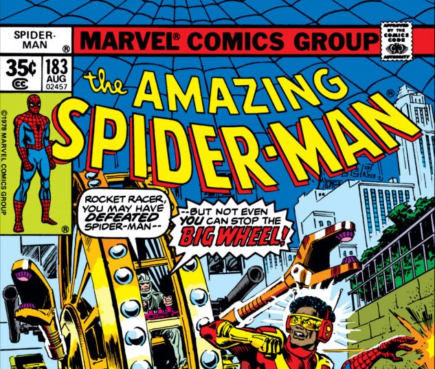 Amazing Spider-Man (1963) #183 Cover