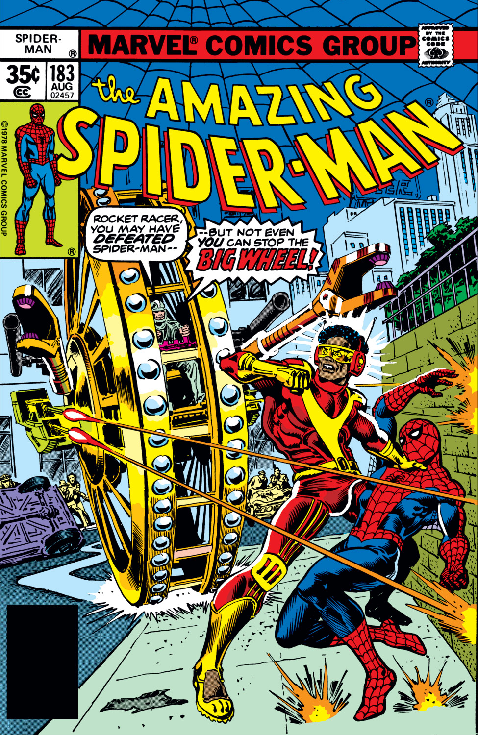 The Amazing Spider-Man (1963) #183