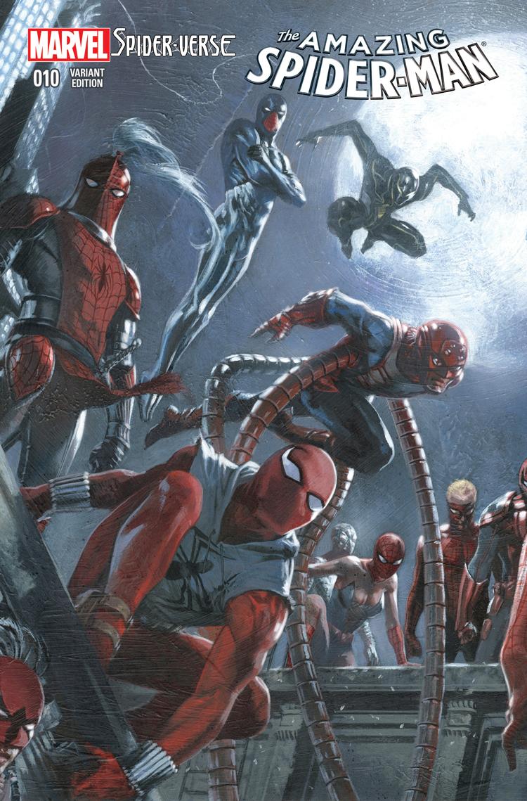 AMAZING SPIDER-MAN #17.1 DELLOTTO VARIANT COVER