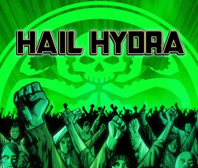 Hail Hydra #1 variant cover by Juan Doe